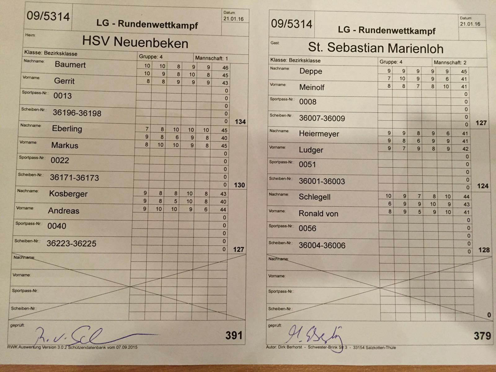 HSB RWK LG Marienloh